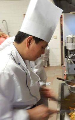Le Chef : Monsieur Xia